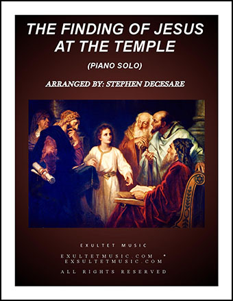 The Finding Of Jesus At The Temple