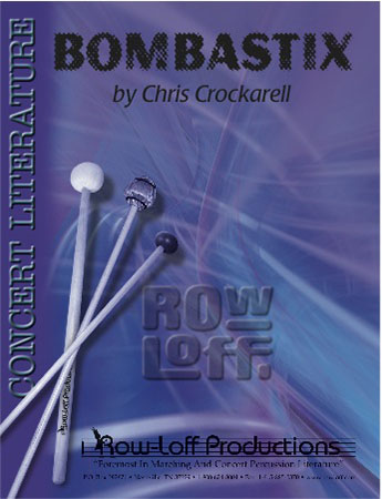 Bombastix percussion sheet music cover