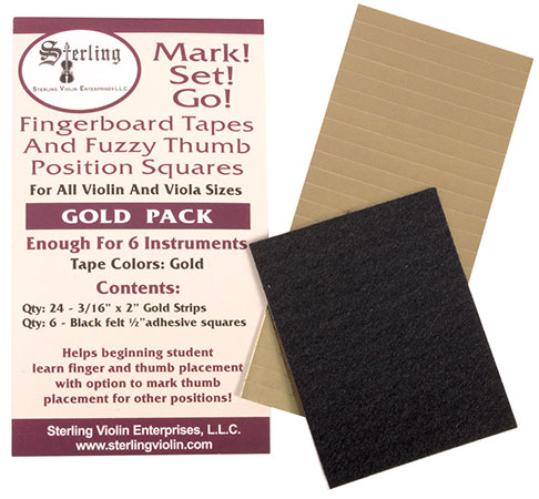 Mark! Set! Go! Fingerboard Tape