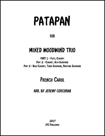 Patapan for Mixed Woodwinds