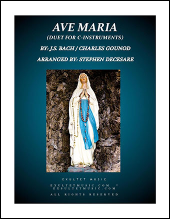 Ave Maria (Duet for C-Instruments - Piano Accompaniment)