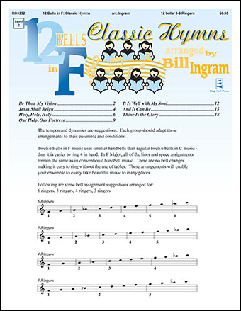 12 Bells in F : Classic Hymns