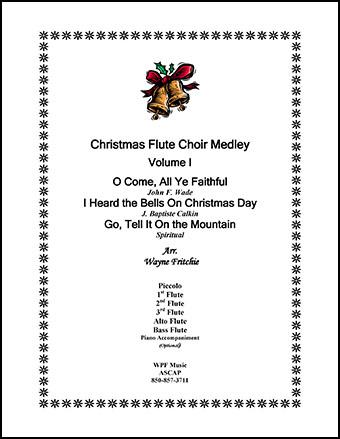 Christmas Flute Choir Medley Volume I
