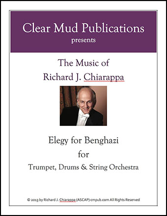 Elegy for Benghazi (for Strings, Trumpet & Drums)
