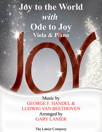 Joy to the World with Ode to Joy (Viola with Piano)