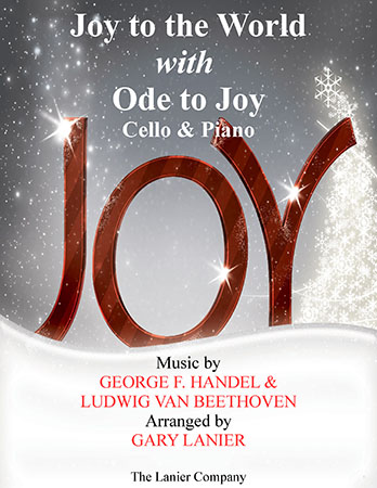 Joy to the World with Ode to Joy (Cello with Piano)