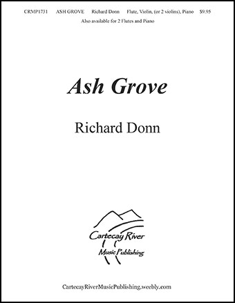 Ash Grove - Flute, Violin, and Piano (or 2 Violins)