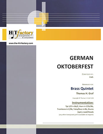 German Oktoberfest - Brass Quintet