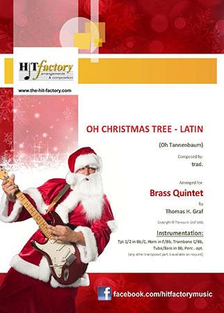 Oh Christmas tree - Latin - (Oh Tannenbaum) - Brass Quintet