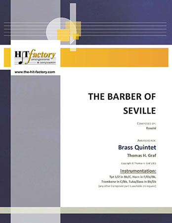 The Barber of Seville - Overture - Brass Quintet