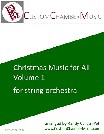 Christmas Carols for All, Volume 1 (for String Orchestra)