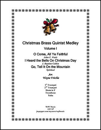 Christmas Brass Quintet Medley Volume I