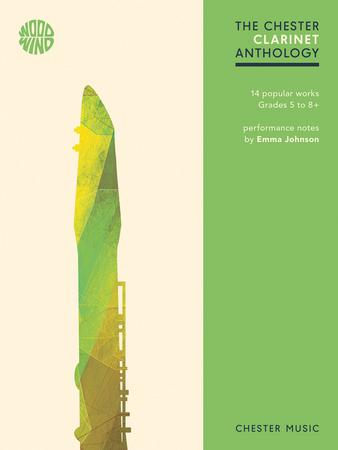 The Chester Clarinet Anthology woodwind sheet music cover