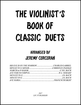 The Violinist's Book of Classic Duets