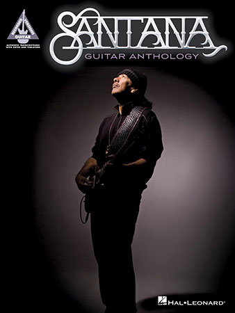 Santana Guitar Anthology guitar sheet music cover