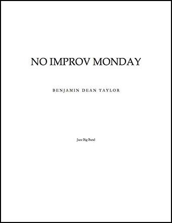 No Improv Monday