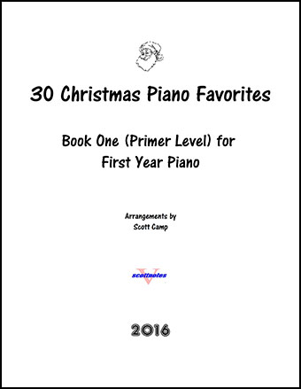 30 Christmas Piano Favorites For First Year Piano