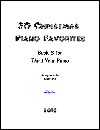 30 Christmas Piano Favorites for Third Year Piano