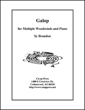 Galop for Multiple Woodwinds and Piano