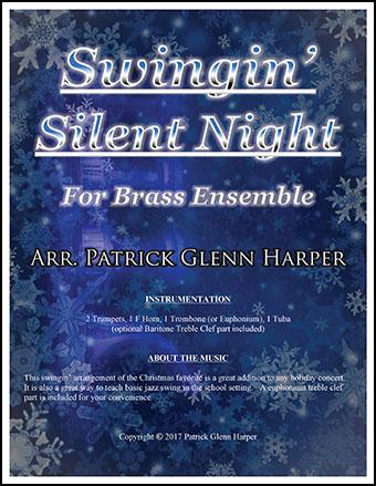 Swingin' Silent Night - for Brass Ensemble