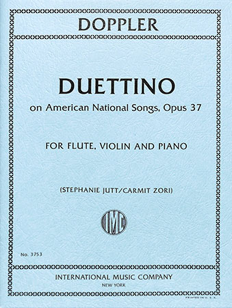 Duettino on American National Songs, Op. 37