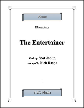 The Entertainer (elementary piano)