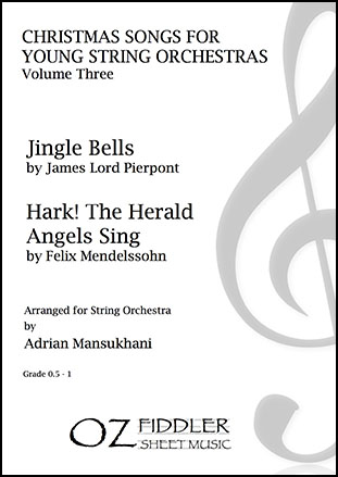 Christmas Songs for Young String Orchestras, Volume Three
