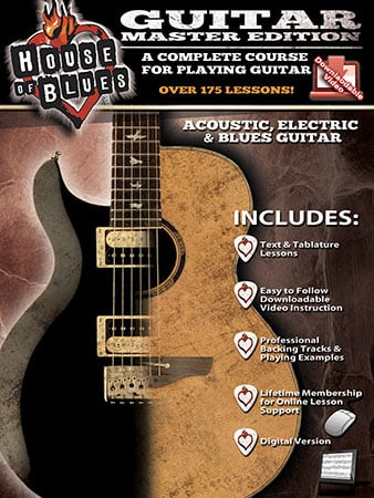 House of Blues Guitar Master Edition