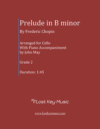 Prelude in B minor-Cello