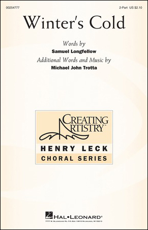 Winter's Cold choral sheet music cover