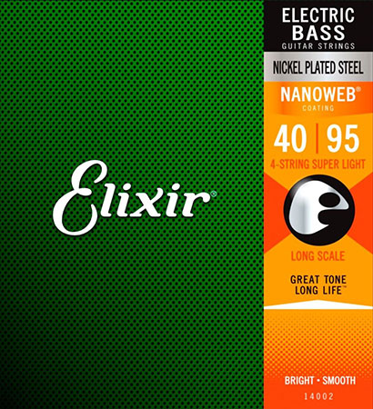 Elixir Electric Bass Strings