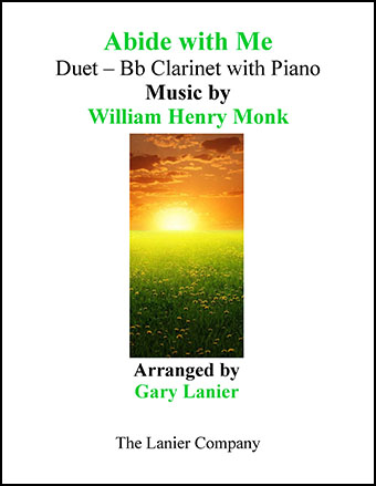 Abide With Me (Duet Bb Clarinet and Piano/Score and Part)