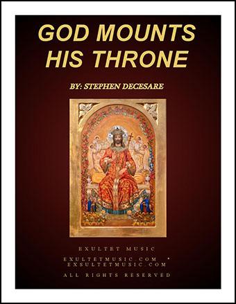 God Mounts His Throne