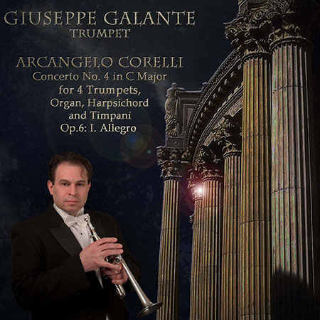 Concerto No. 4 in C Major for 4 Trumpets, Organ, Harpsichord and Timpani. Op. 6: I. Allegro