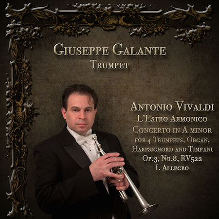 L'Estro Armonico: Concerto No. 8 in A minor for 4 Trumpets, Organ, Harpsichord and Timpani, Op.3, RV 522: I. Allegro