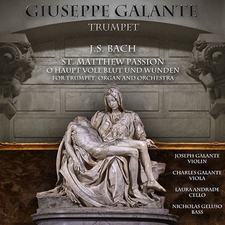 St. Matthew Passion for Trumpet, Organ and Orchestra, BWV 244: No. 54: O Haupt Voll Blut Und Wunden