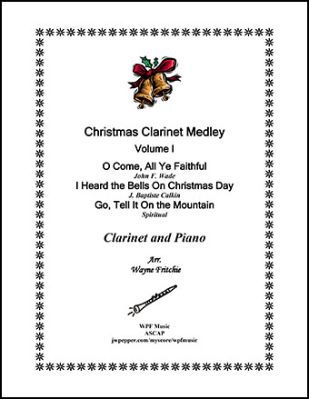 Christmas Clarinet Medley Volume I
