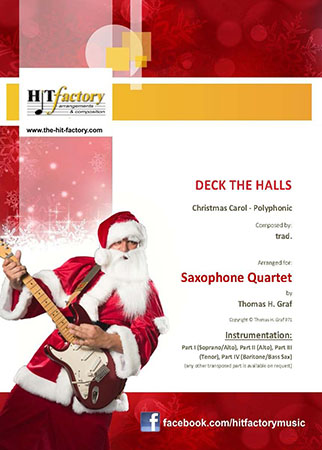 Deck the Halls - Saxophone Quartet