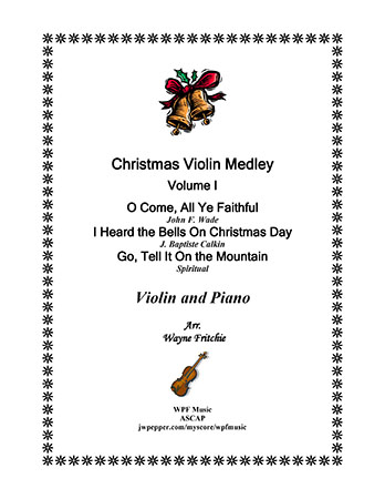 Christmas Violin Medley Volume I