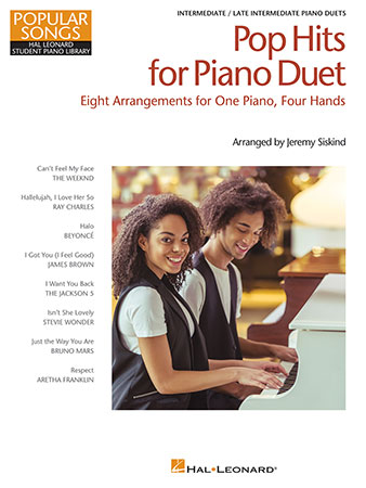 Pop Hits for Piano Duet