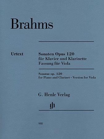 Clarinet Sonata, Op. 120 #1-2
