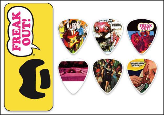 Yellow Frank Zappa Pick Tin