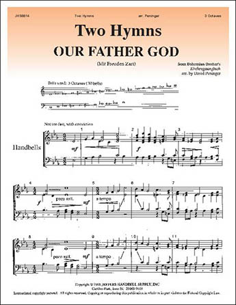 Two Hymns By Traditional David Peninger J W Pepper Sheet Music
