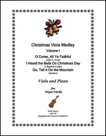 Christmas Viola Medley Volume I