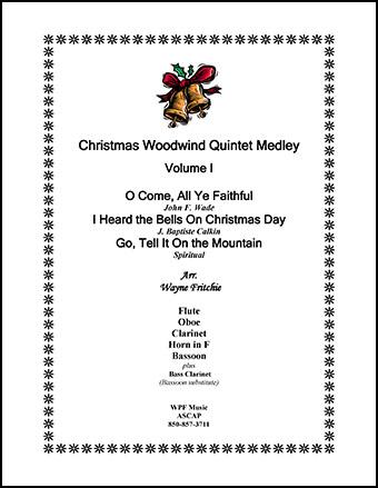 Christmas Woodwind Quintet Medley Volume I