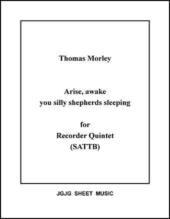 Arise, Awake for Recorder Quintet