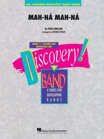 Mah-na, Mah-na band sheet music cover