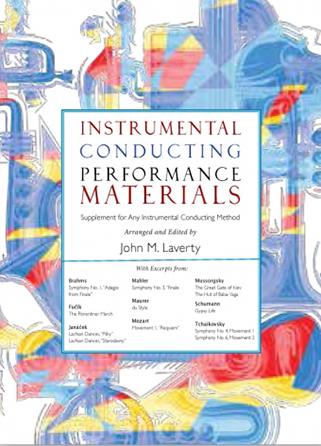 Instrumental Conducting Performance Materials