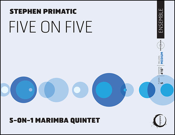 Five on Five percussion sheet music cover