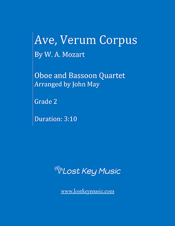 Ave Verum Corpus (Oboe and Bassoon Quartet) Thumbnail